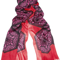 Jonathan Saunders Victoriana printed modal-blend scarf – 60% at THE OUTNET.COM