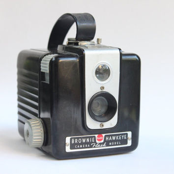 Vintage Brownie Hawkeye Flash Model Film Box Camera | Photographer Gift | Early 1960s\1950s Photography