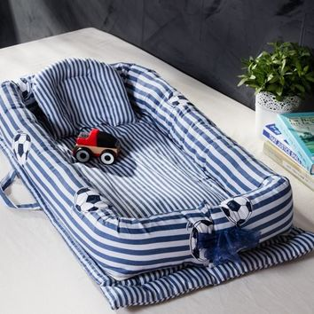 Baby Multifunctional Nursery Bed with Bumper - Foldable and Good For Travel