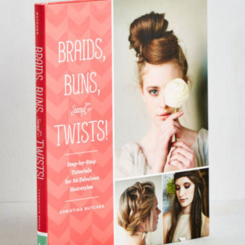 Handmade & DIY Braids, Buns, and Twists by Chronicle Books from ModCloth