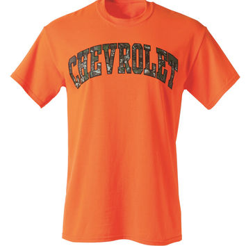 Chevrolet Camo Lettering Tee
