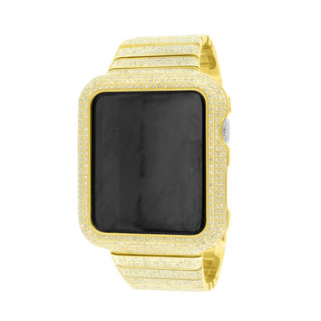 6.5Ct Real Diamond Apple Watch