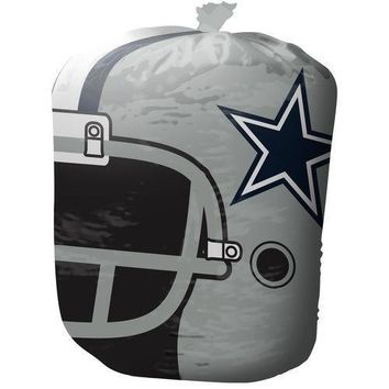 Dallas Cowboys Stuff A Helmet Leaf/Lawn Bag