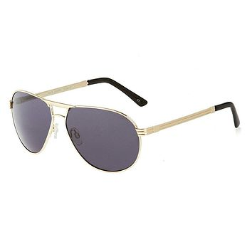 Le Specs - Pool Shark Gold Sunglasses
