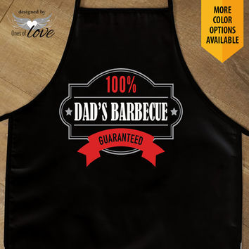 Grilling Apron | Dad's Barbecue | Father's Day Gift | Kitchen Apron | Cooking Apron | BBQ Apron | Personalized Apron | Chef's Apron | Custom