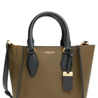 Michael Kors 'Small Gracie' Calfskin Leather Tote