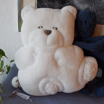 soft pillow bear - baby pillow bear- stuffed animal - baby shower gift - handmade toy - soft toy- pillow bear