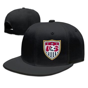 USA Football Team Logo Funny Unisex Adult Womens Snapback Caps Mens Fitted Hats