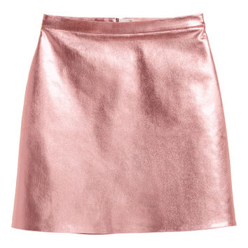 H&M Coated Skirt $49.99
