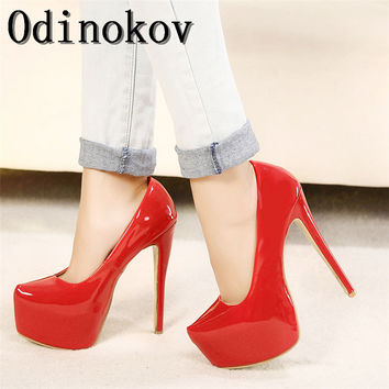 2017 Sexy16 CM High Heel Women So Kate Pumps Ladies Shoes Nude Heels Platform  Sexy Party Shoes Size 35-44