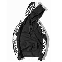 Palace hoodie sweatshirt skateboard jackets men tracksuit hip hop streetwear pullover oversized harajuku winter coat sport basketball 2017