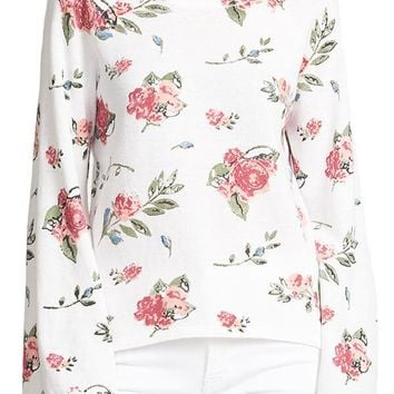 RD Style Floral Sweater