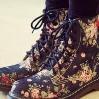 Lace up boots dark from summerbaby