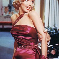 Marilyn Monroe Satin Evening Gown ''Mirror by Morningstar84