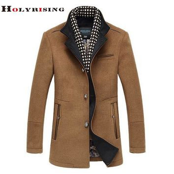 Men's Jackets Coats Luxury Wool Coats