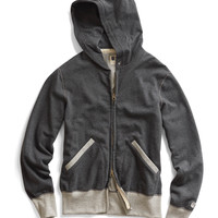 Vintage Full Zip Hoodie in Charcoal Heather