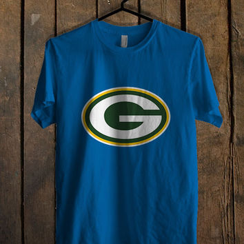 Green Bay Packers logo Blue For Mens T Shirt and Womens T Shirt *76*