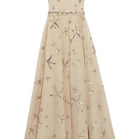 Valentino - Sequined silk-organza gown