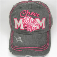 Mom For The Team - Cheer Mom Hat