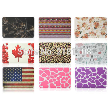 """Patterned Rubberized Matte Hard Cover Case For Macbook Air Pro Retina 11"""" 13"""" 15"""" A1278 A1425 A1398 A1286 A1465 A1534 A1706/1708"""