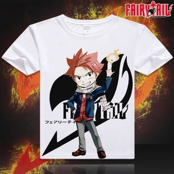 Fairy Tail Short Sleeve Anime T-Shirt V1