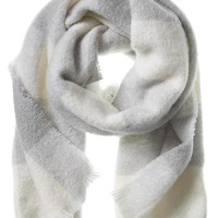 Banana Republic Brook Check Scarf Size One Size - Cocoon
