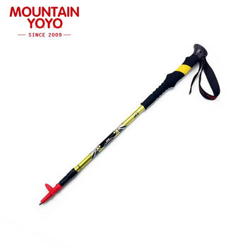 Walking Outdoor Stick Nordic Hiking Cane Anti-shock Anti-skid Trekking Poles