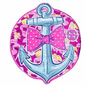 "Simply Southern ""Anchor"" Beach Towel"