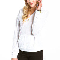 Hooded Knit Top - LoveCulture