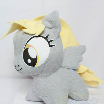 CHIBI Derpy Hooves MLP Hand-Made Custom Craft Plush