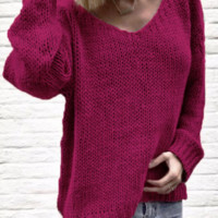 High quality ladies sweater top