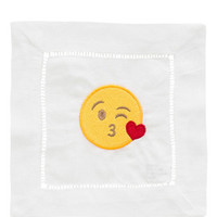 Set of 8 Single Emoji Cocktail Napkins