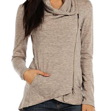 Oatmeal Airport Pullover
