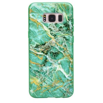 Green Emerald Marble Samsung Galaxy Case
