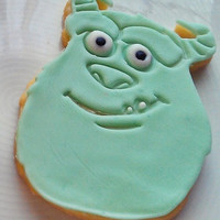 Monsters Inc Cookie Cutter, Sully Cookie Cutter, Monster's Inc Cookie, Monster Inc Fondant Cutter, Monsters University Cookie, Disney Cookie