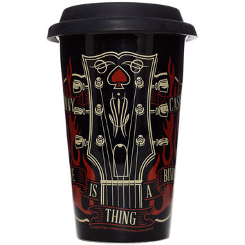 Johnny Cash Travel Mug