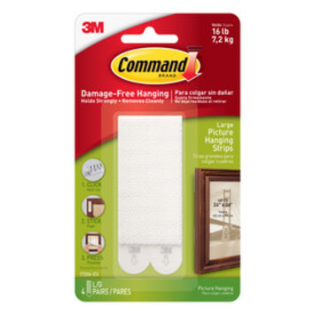Shop Command Large Picture Hanging Strips at Lowes.com