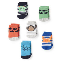 6-Pack Character Baby Socks
