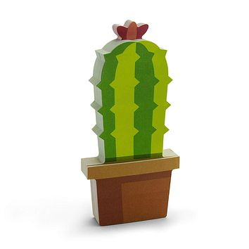 Cactus Write-On Sticky Notes in Green