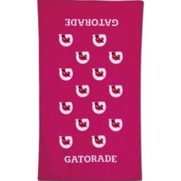 Pink Gatorade Towels September 2017