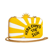 Shirley Here Comes Sun Clutch | Alice + Olivia
