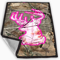 Browning deer camo new Blanket for Kids Blanket, Fleece Blanket Cute and Awesome Blanket for your bedding, Blanket fleece *