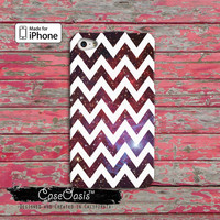 Chevron Pattern Galaxy Stars Space White Custom iPhone 4 and 4s Case and iPhone 5 and 5s and 5c Case and Wallet Case and iPhone 6 and 6 Plus