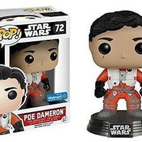 Funko Pop Star Wars - No Helmet Poe Dameron Exclusive Vinyl Figure