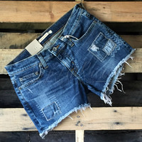 BIG STAR ALEX MID RISE SHORTS