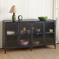 METALWORKS MULTI-USE SIDEBOARD         -                  Storage Bookcases & Desks         -                  Furniture         -                  Furniture & Decor                       | Robert Redford's Sundance Catalog