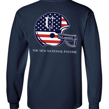 'Football is the New National Pastime' Long Sleeve Tee
