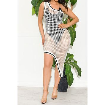 Diamond Paradise Cover Up Off White