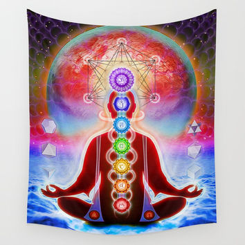 In Meditation Wall Tapestry by Dirk Czarnota