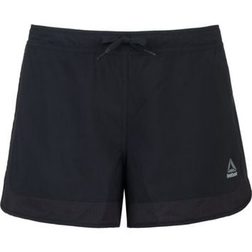 Reebok Women's Workout Ready Woven Mesh Short | Academy